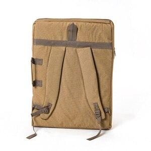 Image 3 - Grand sac dart pour planche à dessin peinture ensemble voyage croquis sac pour croquis outils toile peinture Art fournitures pour artiste