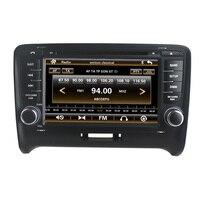 Para Wince DVD player Do Carro para Audi TT carro DVD GPS navigationTape Radio Bluetooth 3G SD DVD/VCD/CD/CD-R/CD 6 virtua/RDS Opcional