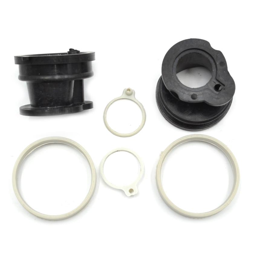 цены на 2SETS Chainsaw Intake Pipe Manifold with Rings Carburetor Sleeve Circles for Stihl 017 018 MS180 MS170 Replaces #1130 141 2200 в интернет-магазинах