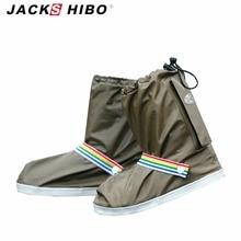 JACKSHIBO Fashion Waterproof Shoe Covers Men&Women's&Children Rain Cover for Shoes Outdoor Use Shoes Accessories