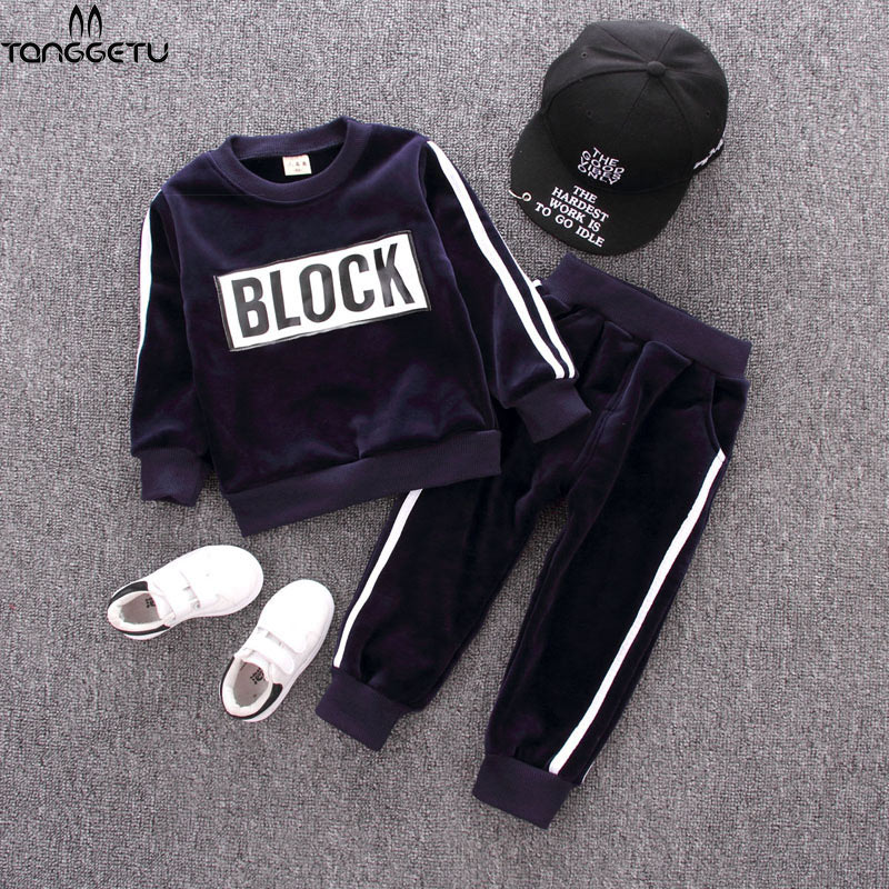 Baby Boys Clothing Sets Kids Girls Tracksuits Sport Suit Spring Autumn Clothes Children Casual Set Sportswer+ pant Suit Set autumn winter boys clothing sets kids jacket pants children sport suits boys clothes set kid sport suit toddler boy clothes