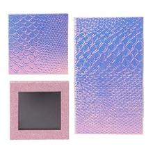 Fish Scale Empty Magnetic Makeup Palette DIY Eyeshadow Concealer Case Holder Pro недорого