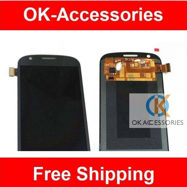 Grey White Color For Samsung Galaxy Express i8730  LCD Display+Touch Sceen Digitizer Assembly 1PC /Lot