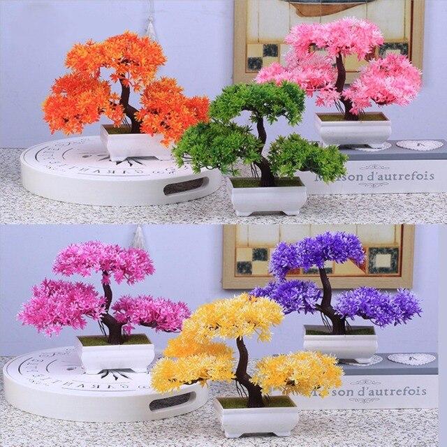 Mayitr artificial plastic resin bonsai tree for wedding decor home mayitr artificial plastic resin bonsai tree for wedding decor home decoration accessories junglespirit Choice Image