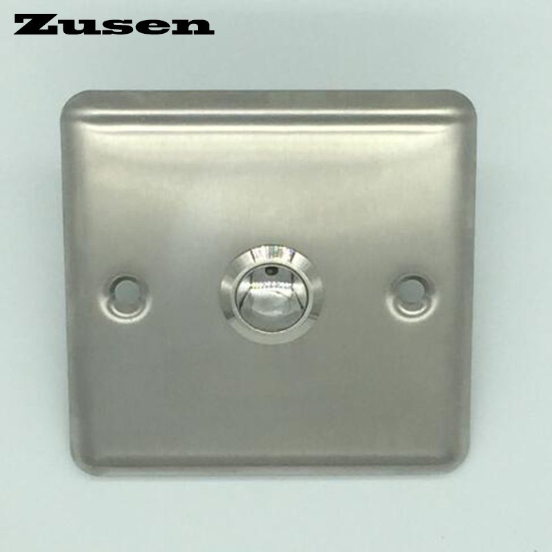 doorbell button bronze - Zusen 19mm  Door bell push button  with  panel button is Nickel-plated brass
