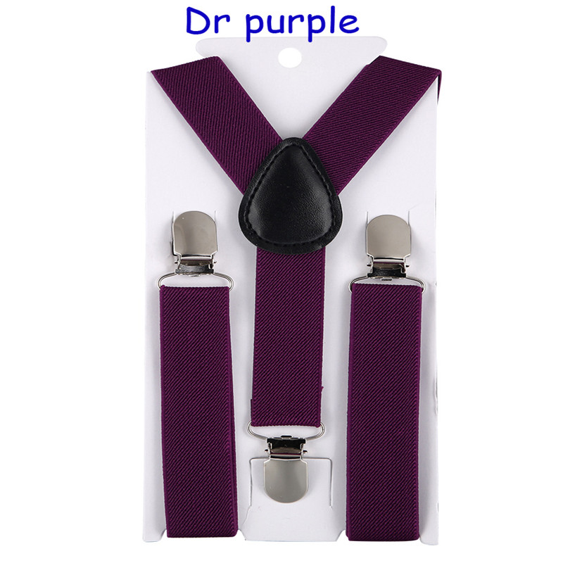 Fashion High Quality Boys  Girls Belt Clip-on Elastic Braces Stainless Kids Baby Suspenders Children Party Adjustable Accessori