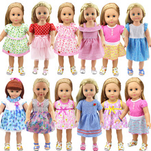 18-inch Doll Dress-Fashioh Clothes Outfit for My Little Baby-18/Life/Generation/american doll Accessories fit Girls Gift