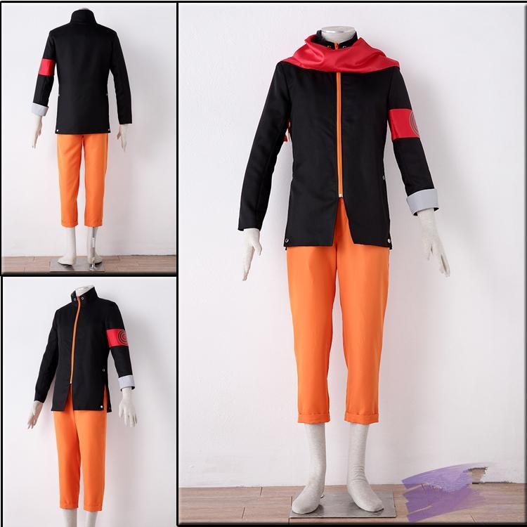 Anime Uzumaki Naruto The Last  Cosplay Costume Full Set