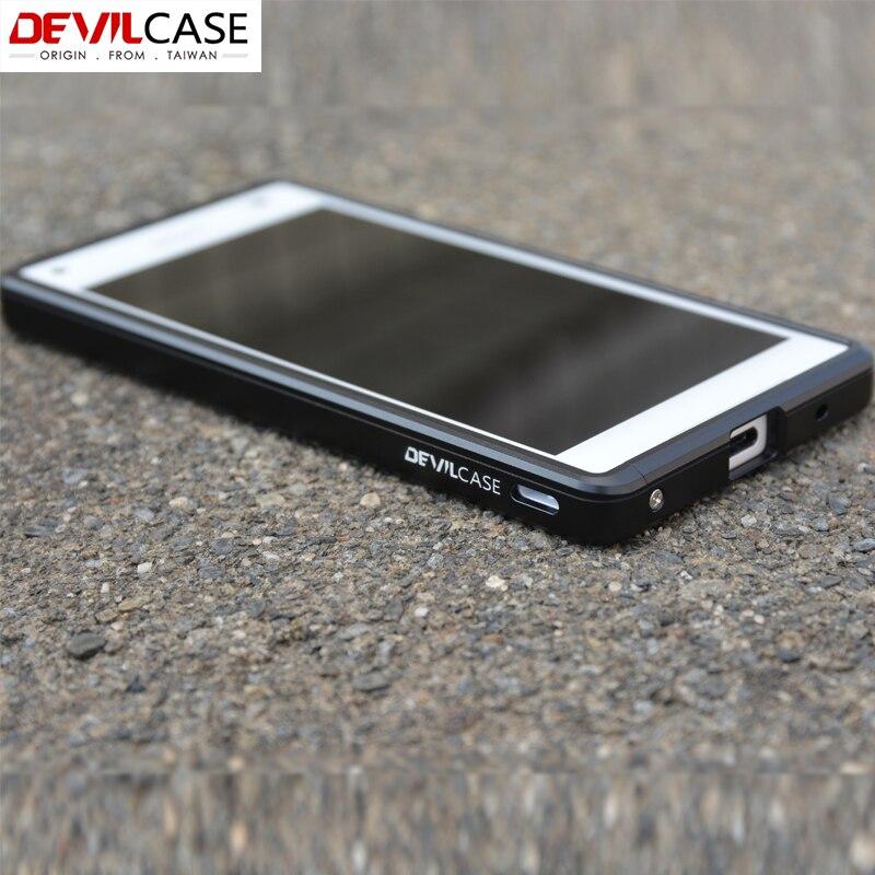 Devilcase para Sony Xperia Z5 Compact aluminio metal parachoques ...