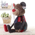 80CM super cool trumpet adorable baby elephant Bear plush toy rabbit doll wedding birthday gift to send girls AF000145