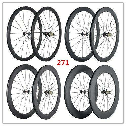 SuperTeam Karbon tekerlek 700C Yol Bisiklet tekerlek 38/50/60/88mmSuperTeam Karbon tekerlek 700C Yol Bisiklet tekerlek 38/50/60/88mm