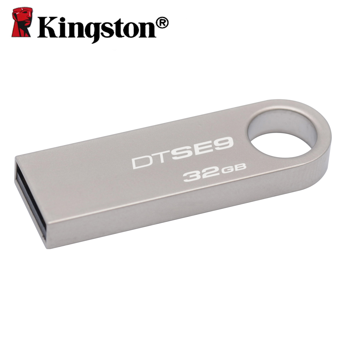 Kingston USB 2.0 mini key flash drive 8gb 16gb 32gb metal casing pen drive memory otg stick USB flash disk DTSE9 usb flash drive 8gb kingston datatraveler locker g3 dtlpg3 8gb