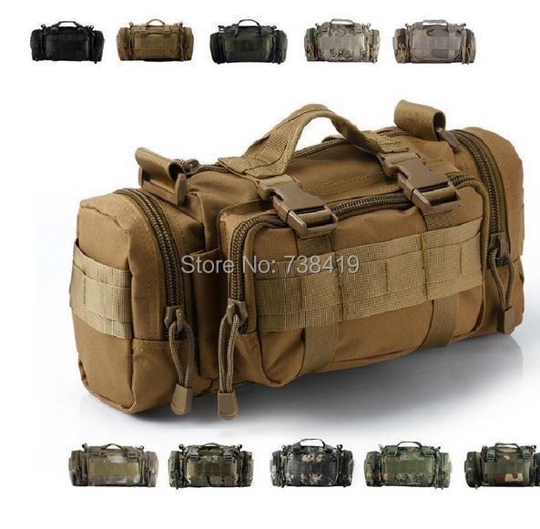 Utility Military Tactical Duffle Molle Waist Bags Fanny Pack Bag Assault Backpack - Mother&Baby Care store