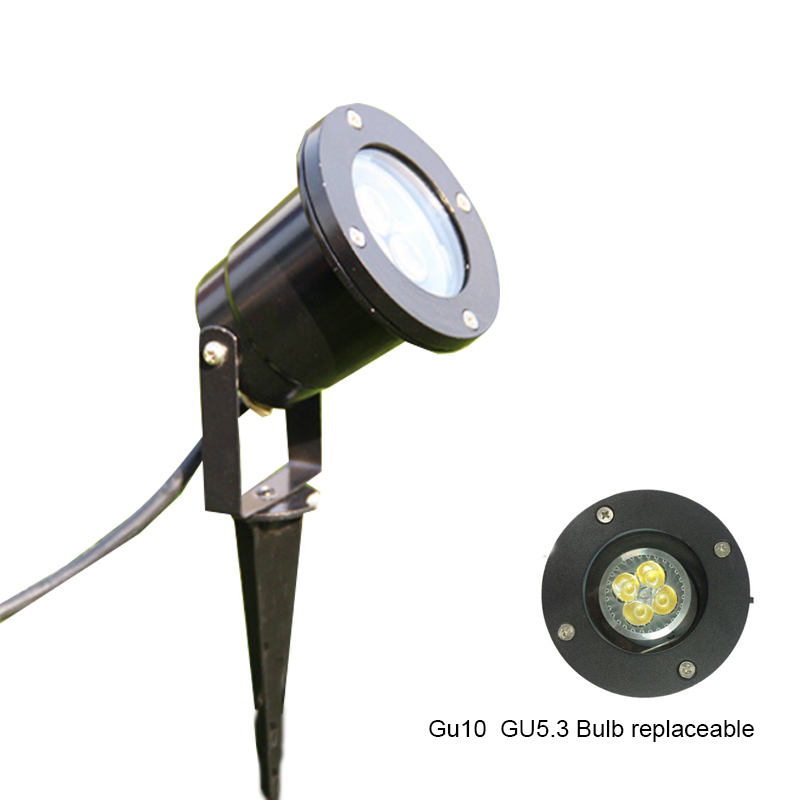 IP65 Outdoor Led Lawn Light With GU10 Led Garden Light 3W 5W Led Landscape/Pathway Lights  Aluminium Lawn Lamp MR16 Holder