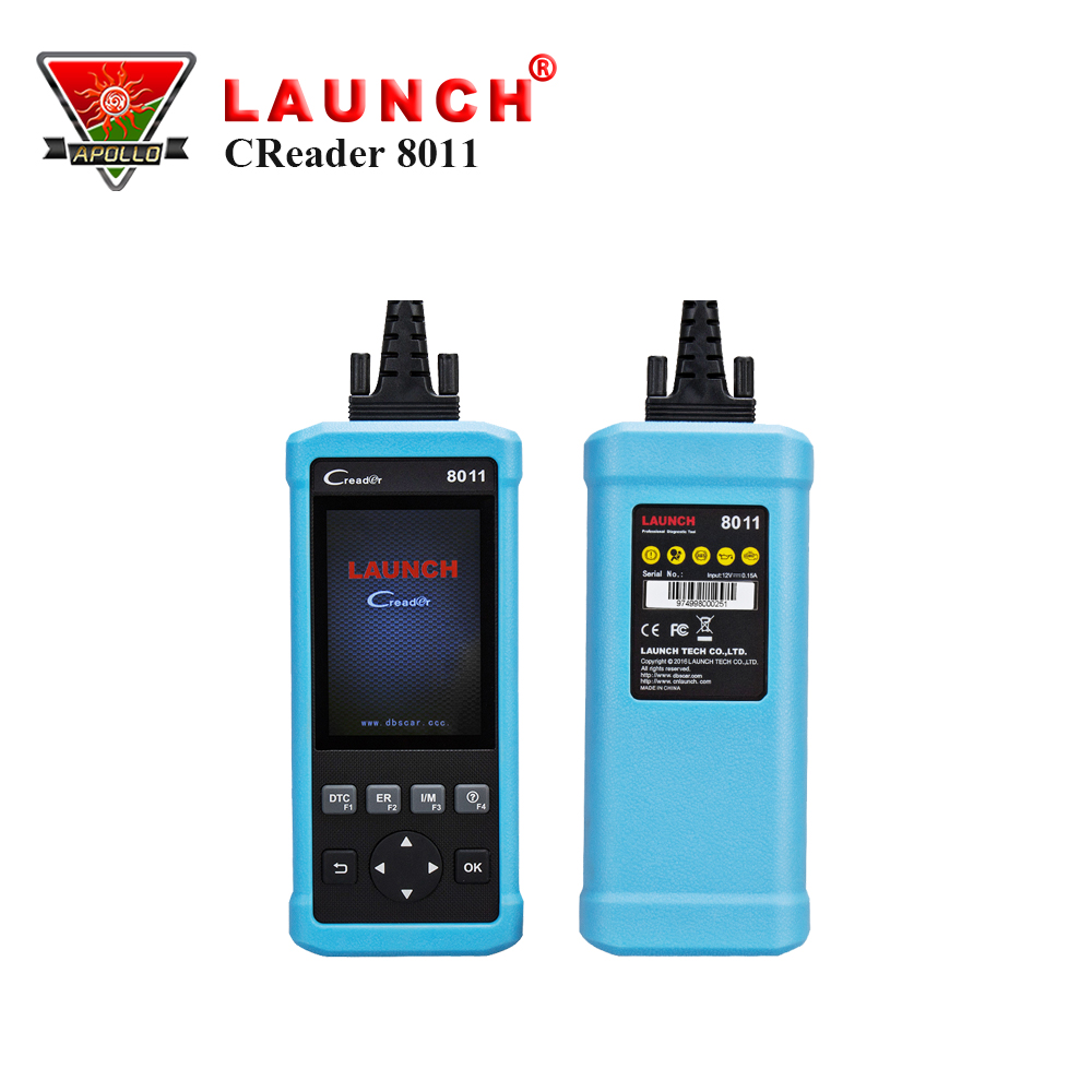 Launch OBDII Scanner Code Reader CReader 8011 Diagnostic Tool with OBD 2 full test +ABS/SRS+Oil/EPB/BMS reset free update online 2pc lot free shipping vgate vs450 for vag obdii obd 2 code reader car diagnostic tool vs 450 reset airbag abs can scanner