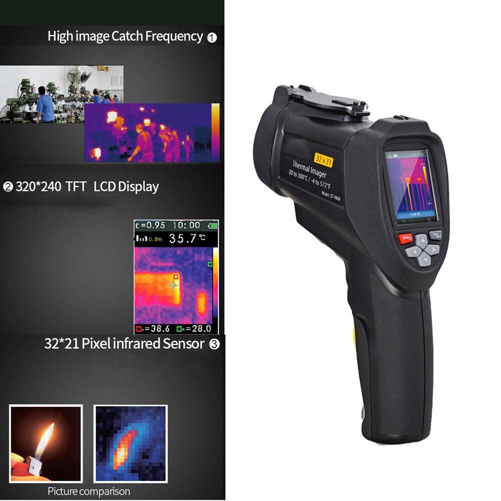 DT-9868 handheld Temperature control instruments