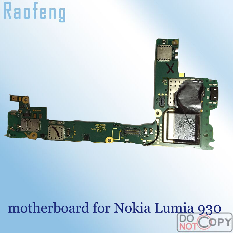 Raofeng Test By One For Nokia Lumia 930 Motherboard Replacement Unlocked Mainboard