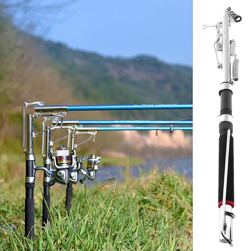 1Pcs 2.4m 2.7m Automatic Fishing Rod Telescopic Sea River Lake Glass Fiber Fish Rod Outdoor Fishing Pole For Carp Fishing