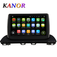 KANOR Android 5 1 Quad Core Car DVD Player For Mazda 3 Axela 2014 With GPS