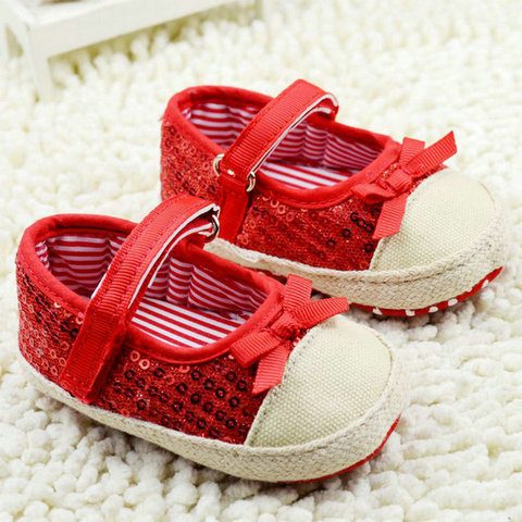 infant toddler shoes baby girls shoes bebe shoes first walkers crib  shoes kids shoes breathable Sequin Multan