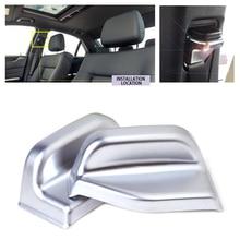 beler ABS Chrome Plated Interior B Pillar Seat Belt Adjust Cover Trim for Mercedes Benz B Class W246 B180 B250 2012-2014 2015