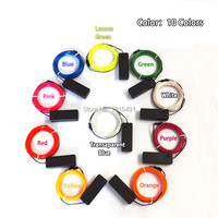 10 Colors 2 3mm 10M Waterproof EL Wire Rope Tape Cable Strip Neon Lights Shoes Clothing