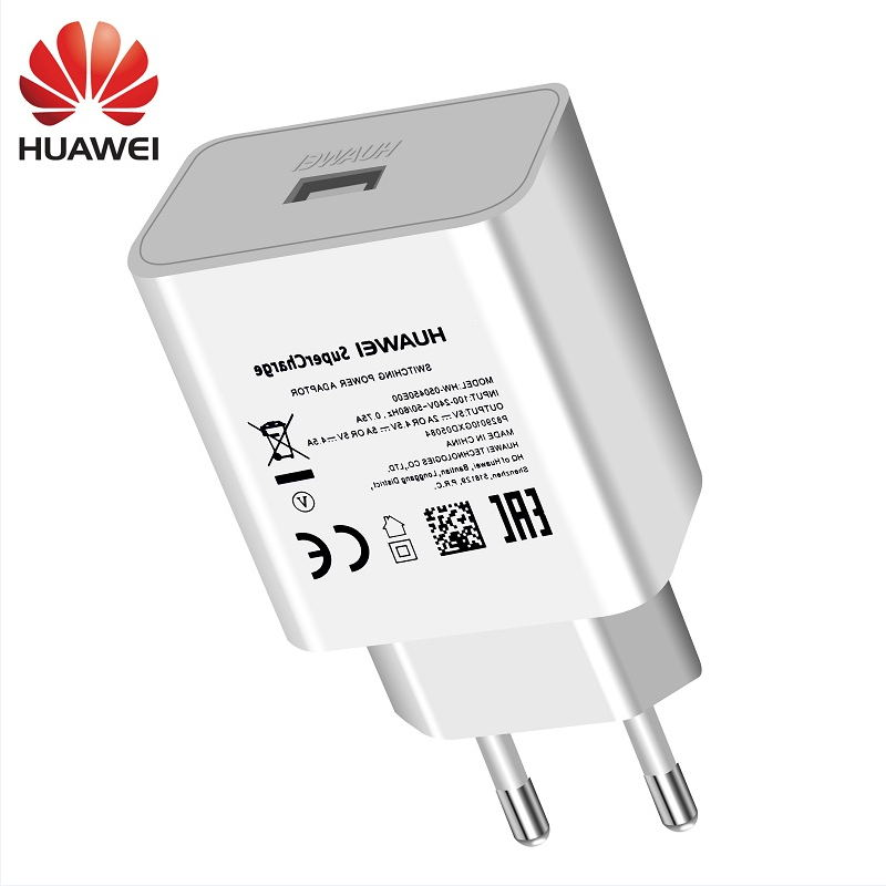 Huawei Super USB Charger Wall Travel SuperCharge Original 5V4.5A 5A USB Type C Cable Honor 10 V10 View10 Nova 3e Mate 10 9 Pro