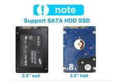 1 TB de disco duro externo usb 3.0 2.5 hdd Cifrado usb universal De Aluminio de aluminio caja de disco duro disco duro externo