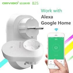 Alexa&Google Home Orvibo B25 EU/UK/US Smart Home System Power Socket Plug 4g/wifi Remote Control Wireless Switch By Smartphone