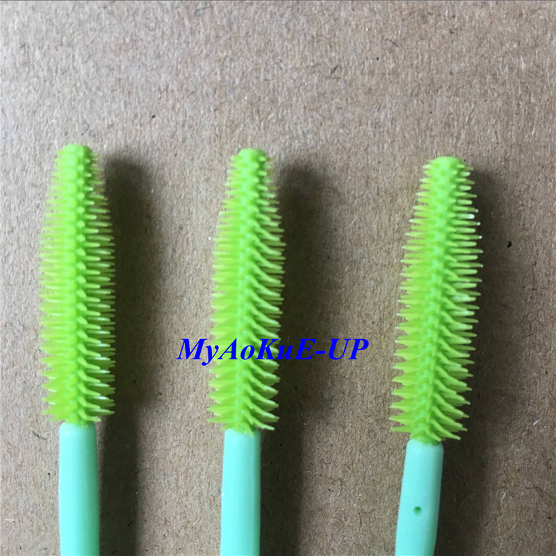 Makeup brushes eyelash comb brush 1000pcs lot one off for Mascara with comb wand