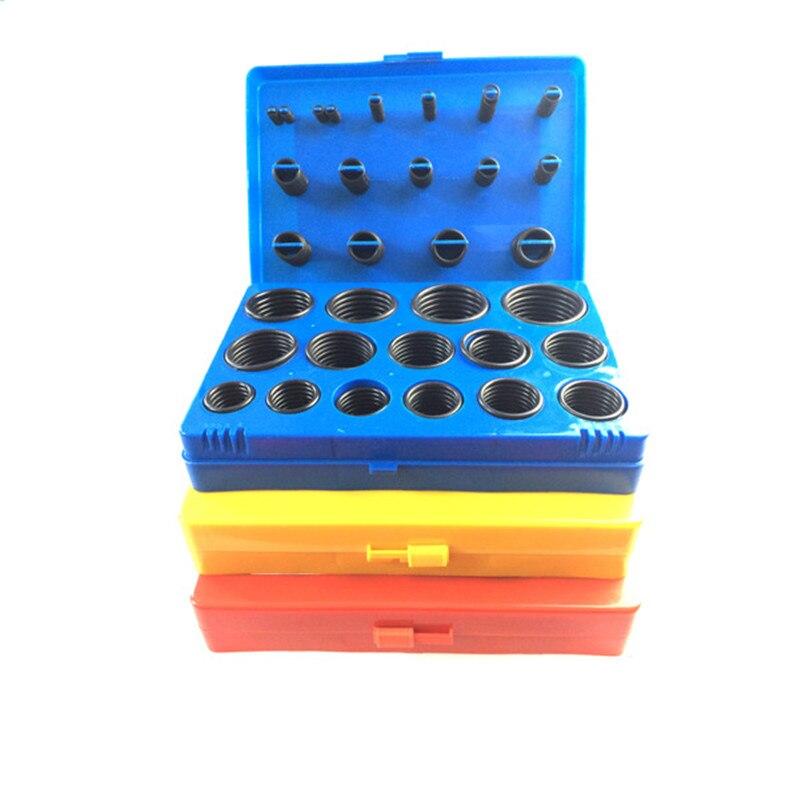 все цены на O ring repair box, 386pcs sealing ring, silicone sealing gasket, rubber gasket, sealing apron онлайн