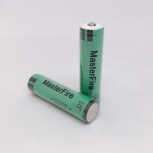 цена на MasterFire 2PCS/LOT Original Protected 18650 NCR18650A Rechargeable Lithium battery 3100mAh Batteries For Panasonic with PCB