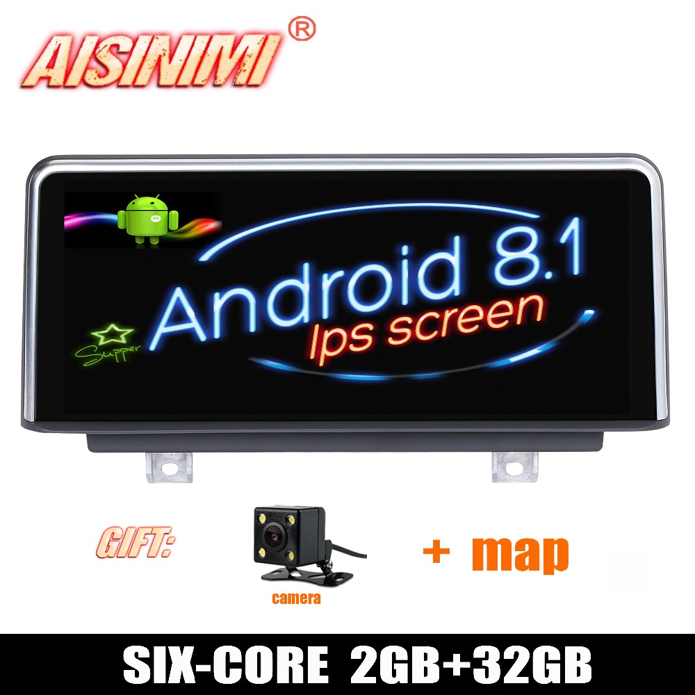 Android 8 1 Car Dvd Navi Player FOR BMW 1 Series F20 F21 2 Series F23