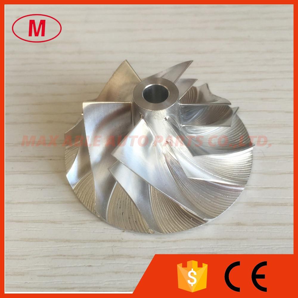 CT20 17291-54060 38,69/57,00 мм 6 + 6 лезвий Турбокомпрессор заготовка компрессорное колесо для 17201-54060 турбо/chra