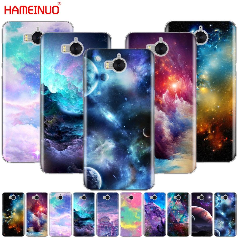 Hameinuo космического пространства звезды планета сотового телефона чехол для <font><b>Huawei</b></font> <font><b>Honor</b></font> 3C 4A 4x 4c 5&#215;6 7 8 y6 y5 2 II Y560 Y7 2017
