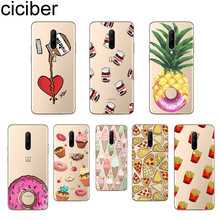 ciciber Cute Food Pizza Phone Case For Oneplus 7 Pro 1+7 Pro Soft TPU Cover for Xiaomi 9 Coque For Redmi Note 7 6 Pro Funda Capa