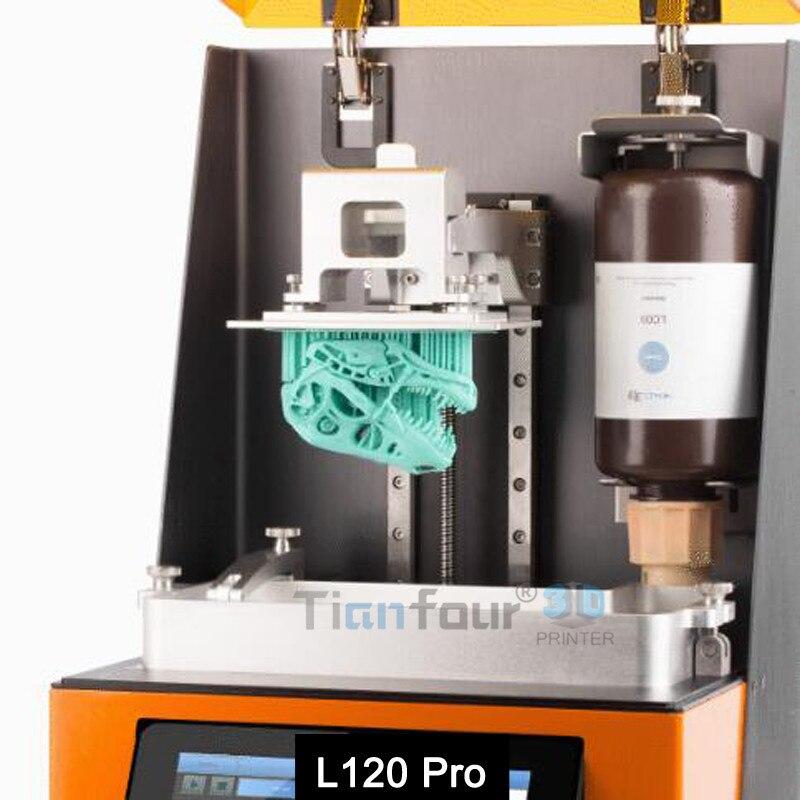Dazz 3D plus avancé LCD SLA 3D imprimante haute précision qualité dlp 3d Impresora pour Bijoux dentisterie pièces de précision modèles - 4