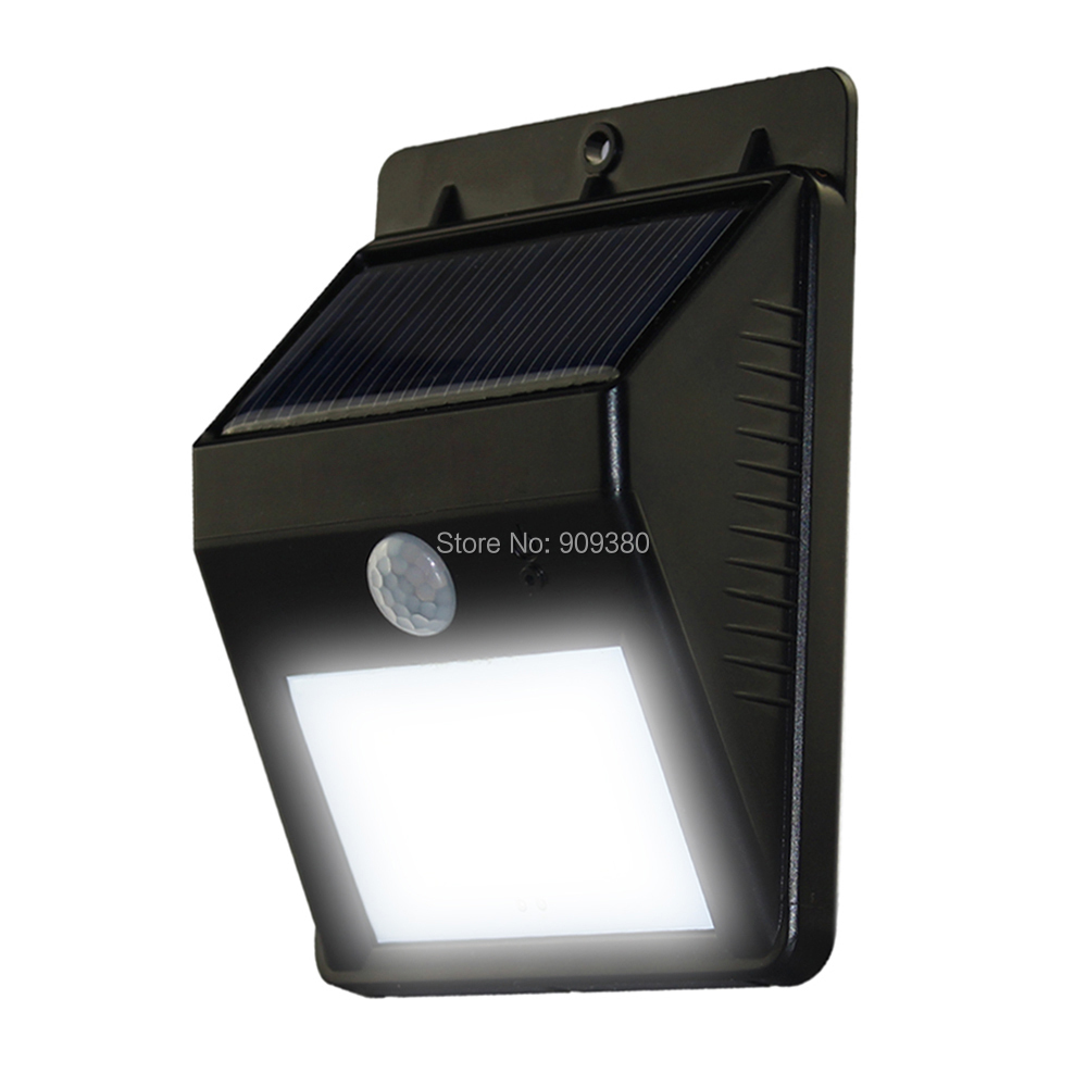 Led solar light outdoor solar led lamp garden light outdoor lighting the security light is easy to install with the screws and plugs provided our light body dimensions 45in x 33in x 16in solar panel dimensions 3in x aloadofball Images