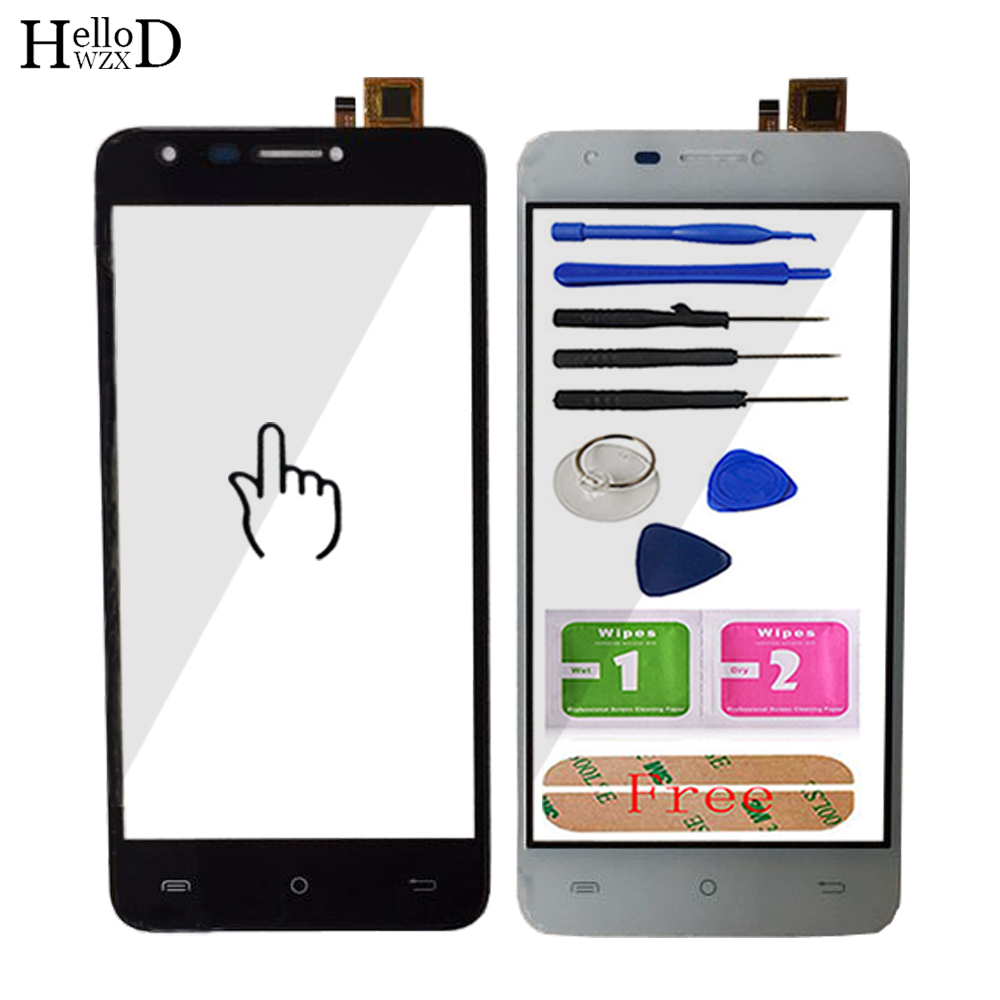 Touch Screen Glass For Cubot Hafury Mix Cubot Mix Front Touch Screen Glass Digitizer Panel Sensor Mobile Tools Adhesive