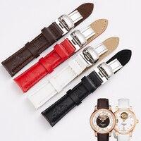 High Quality Watch Band Leather Women Waterproof Watch Strap 16mm Genuine Watchband for Tissot 1853 050 Wrist Watch Bracelet