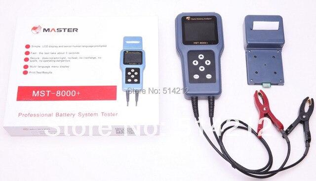 Haute Précision 12 V Et 24 V Mst8000 + Batterie Système Testeur