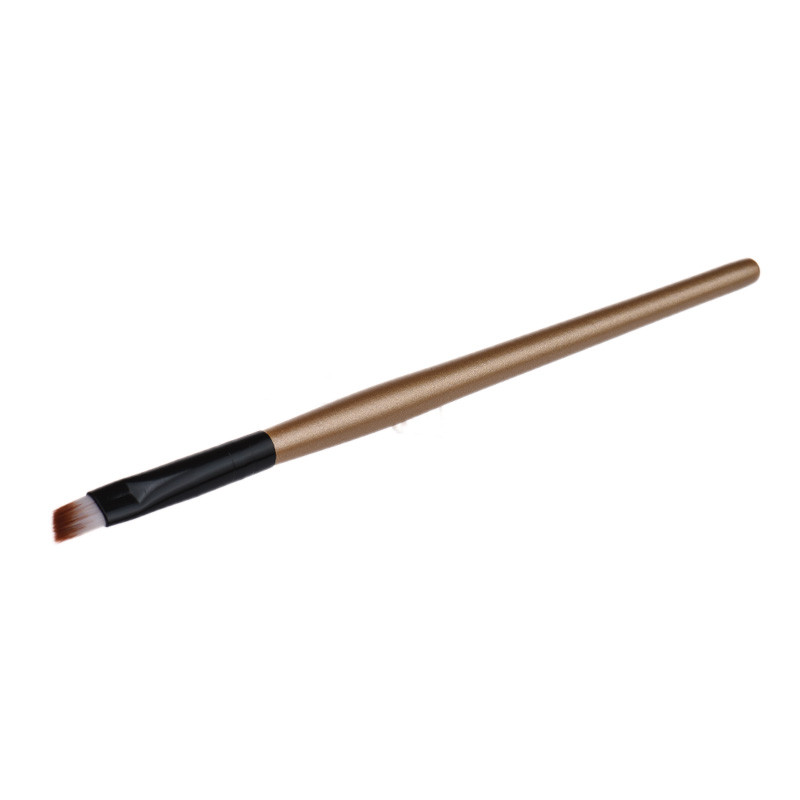 Paradise 2016  Hot New fashion design Eyebrow Cosmetic Makeup Brush Wooden Handle + Artificial Fiber Free Shipping Apr26
