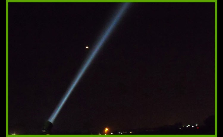 Marine draagbare 100W spotlight, 17