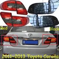 Corolla taillight,2011~2013;Free ship!LED,corolla rear light,optional:Red/Black color,altis,corolla fog light;Carmy,prado