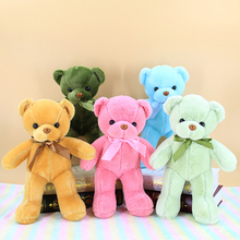 цена на 35CM Beautiful doll teddy bear plush teddy bear wedding gift baby toy birthday gift soft toy wedding throwing toy WJ045