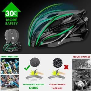 Image 3 - Quesharkプロフェッショナルメンズ · レディースエアーベントサイクリングヘルメット超軽量乗馬山道バイクヘルメット頭安全