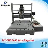 LY Mini CNC Router DIY 3040 3 Axis Mini CNC Drilling Machine Free Tax To EU
