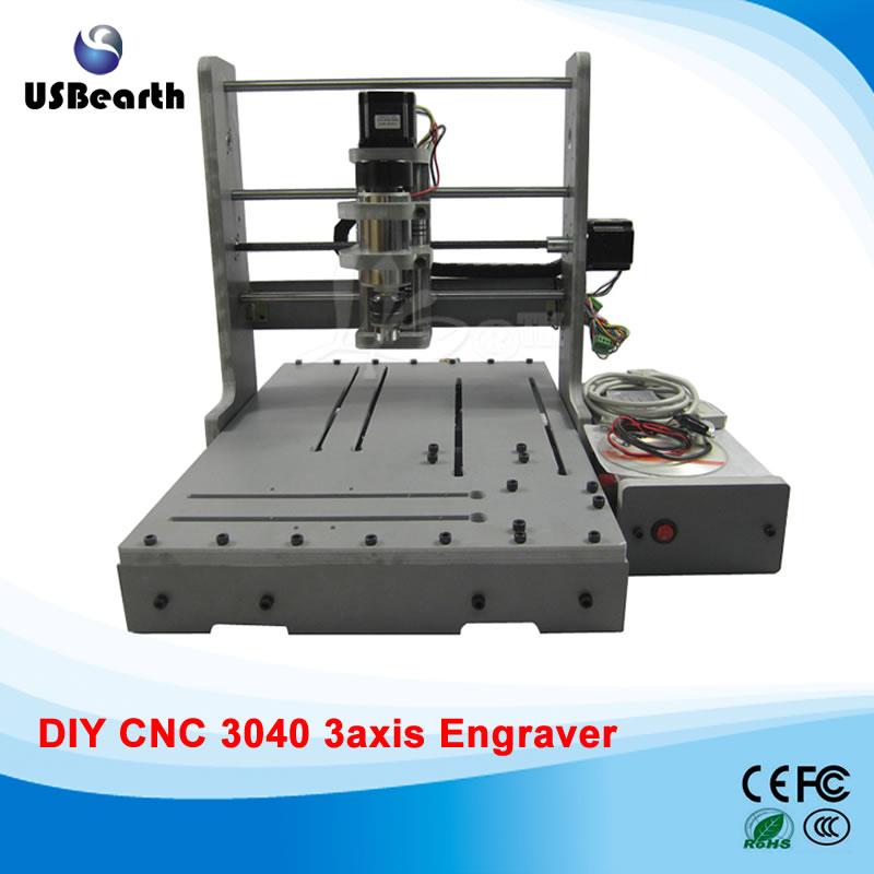 LY mini CNC router DIY 3040 3 axis mini CNC drilling machine free tax to Russia eur free tax cnc 6040z frame of engraving and milling machine for diy cnc router