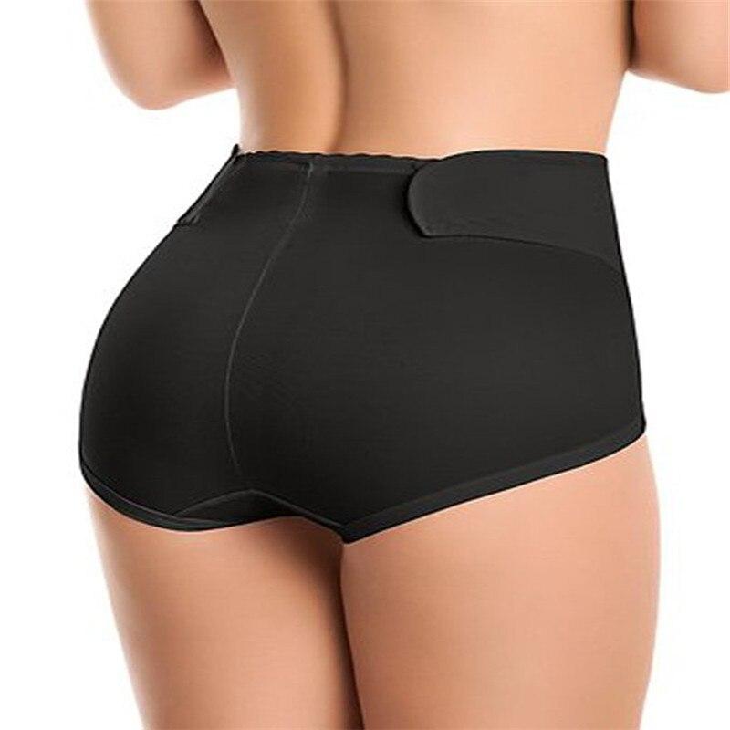 Chino barato caliente sin costuras de alta cintura adelgazamiento Butt Lifter Tummy Control entrenador cuerpo Shaper bragas Ropa interior negro Shapewear