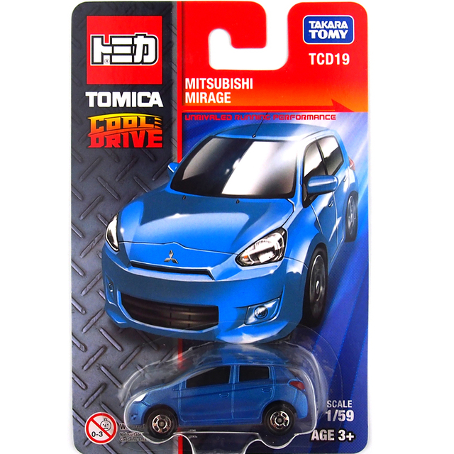 tomica tomy blue colour mitsubishi mirage baby kids diecast motor